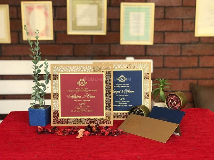 Rohan and Aparna Invitations