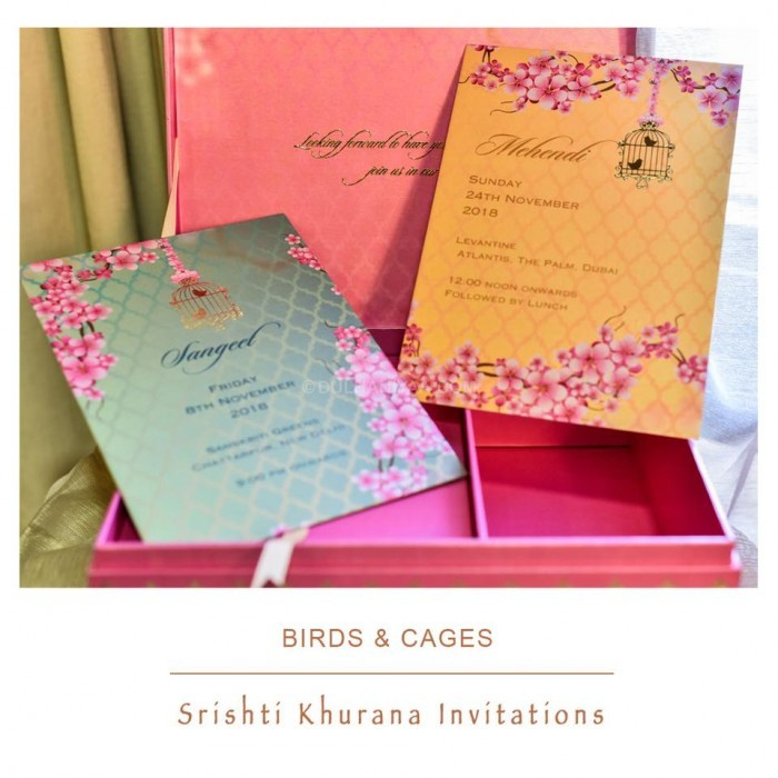 Srishti Khurana Invitations