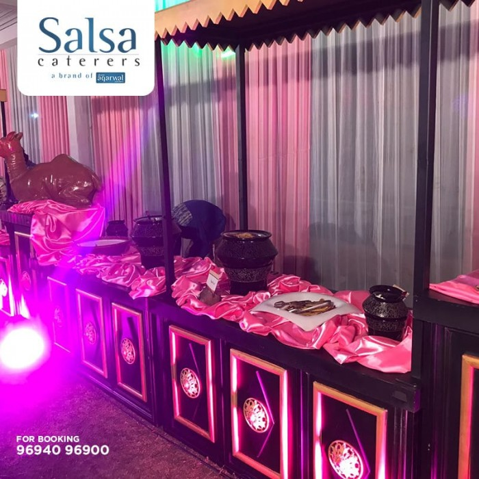 Salsa Caterers & Shree Agarwal Caterers