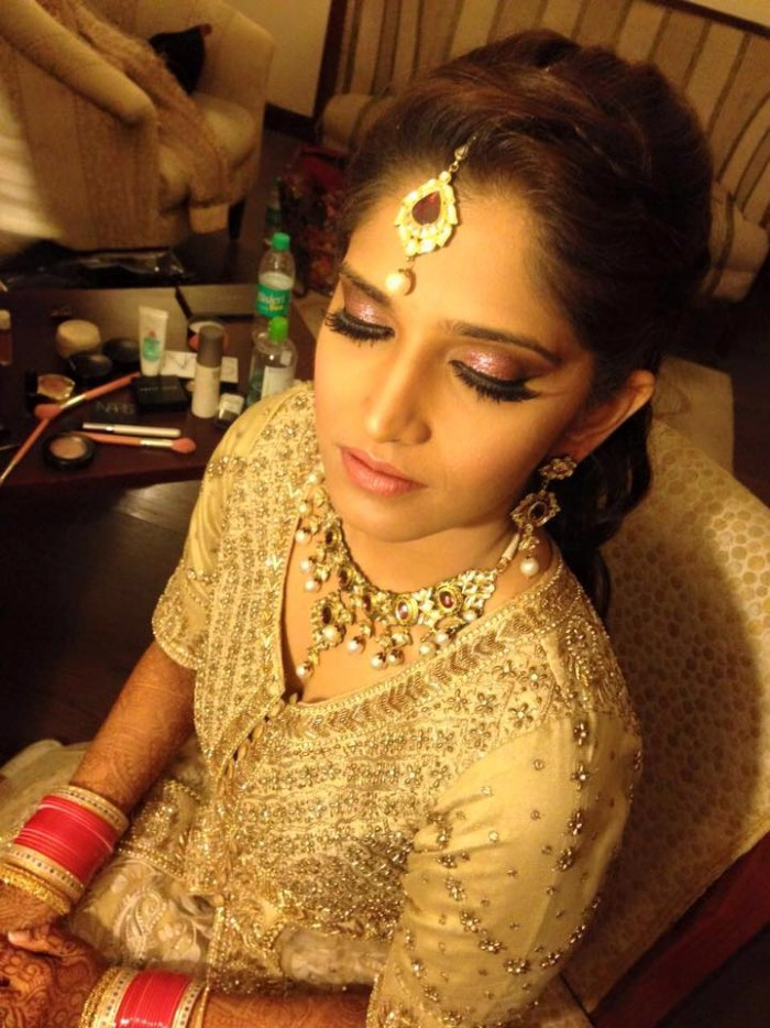 Make up by Simar Pannu