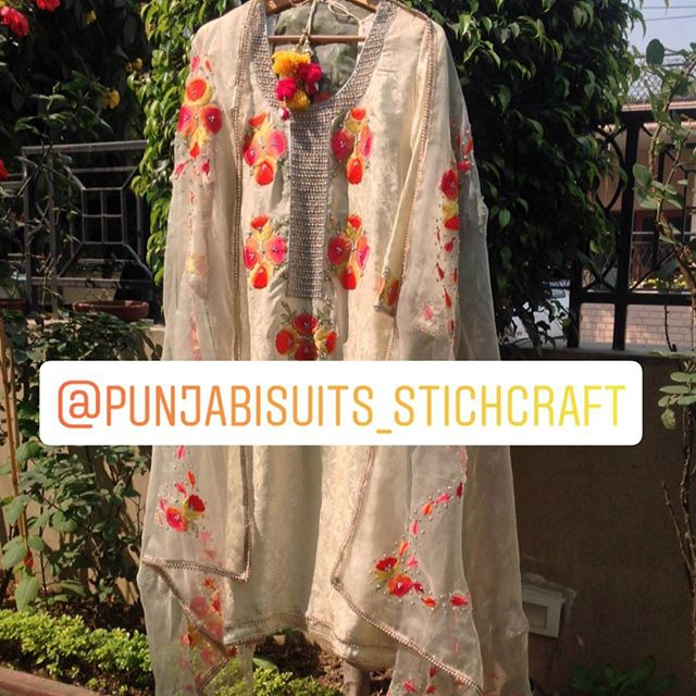 Pubjabi Suits Stitch Craft