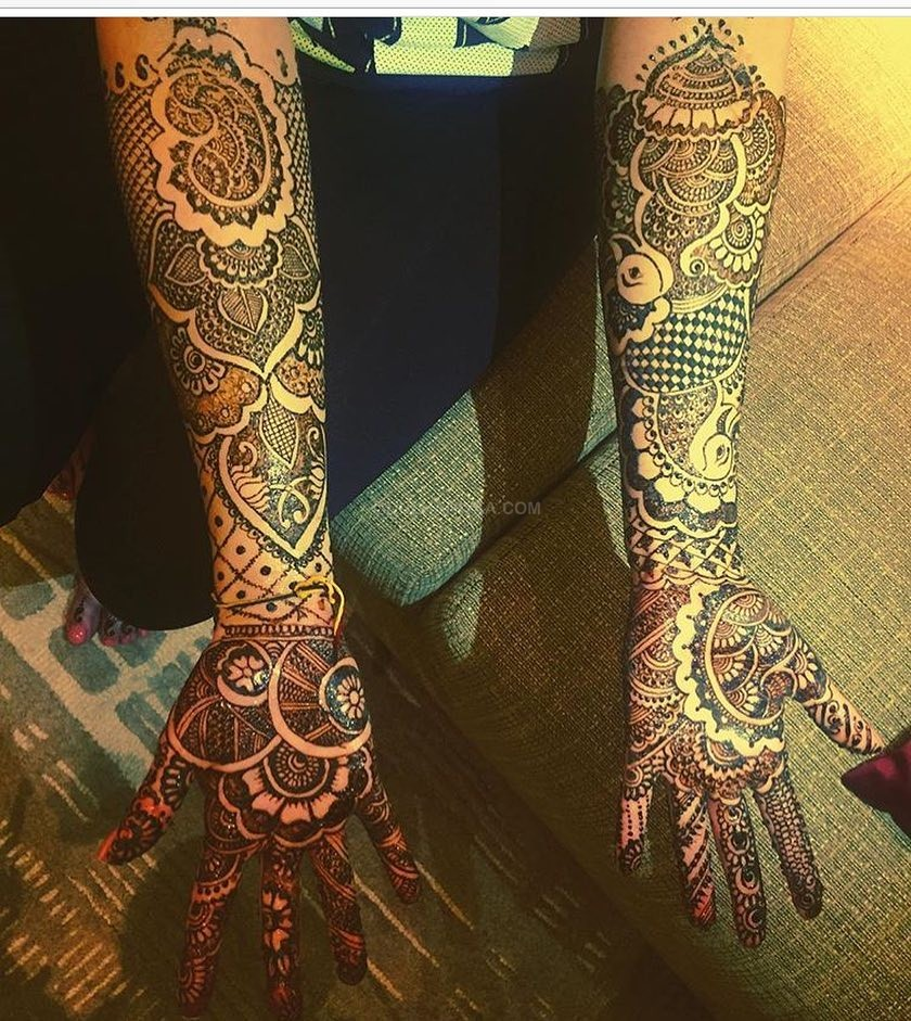 Mehndi Designs by Bhawna Taneja